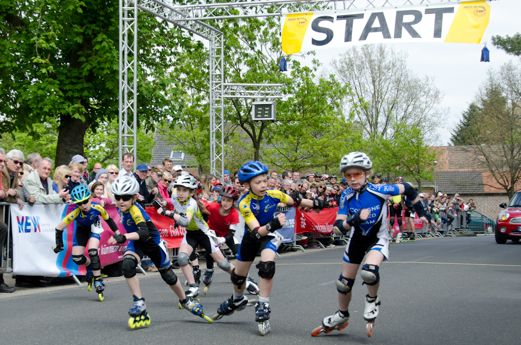Spurt in den Mai - Start Kids-Race
